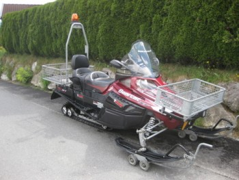 ARCTIC CAT Bearcat Z1 XT LTD rot